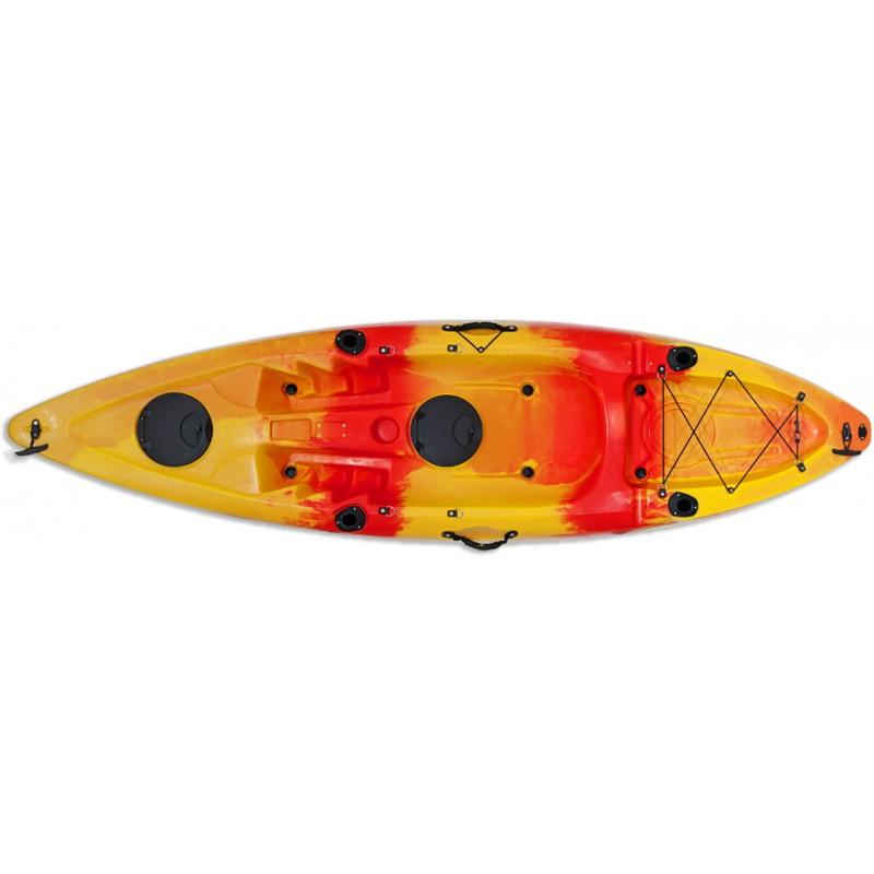 Kayak Conger (κόκκινο/κίτρινο λωρίδες) - 1134346 ΚΑΓΙΑΚ