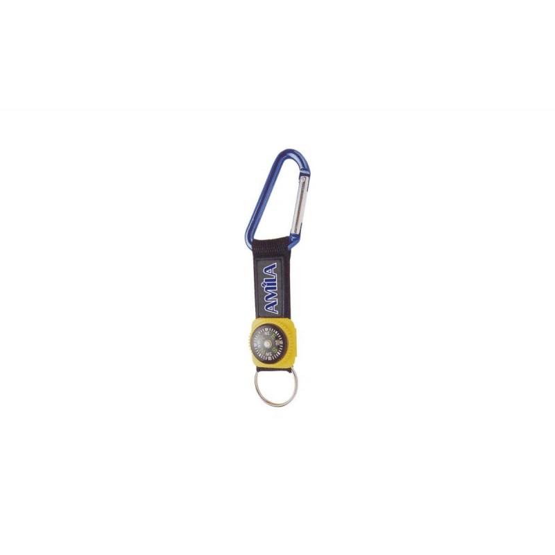 Πυξίδα μπρελόκ σε ορειβατικό γάντζο - 11482