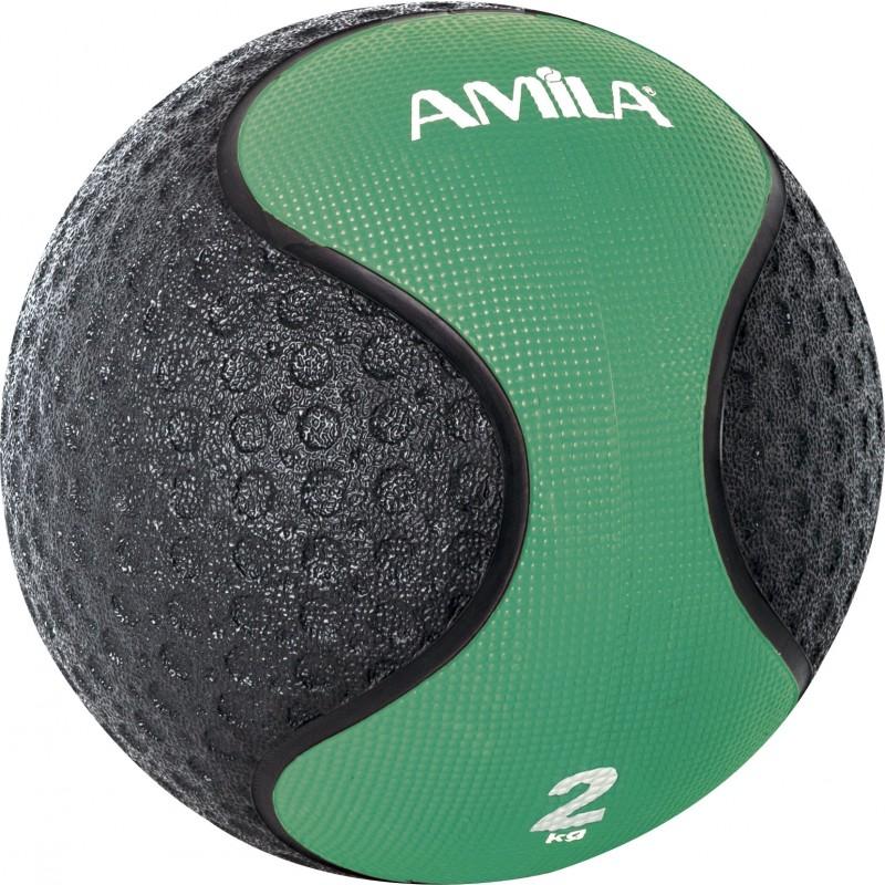 Medicine Ball ΜΠΑΛΑ ΑΣΚΗΣΕΩΝ ΓΥΜΝΑΣΤΙΚΗΣ 2kg 90702 AMILA