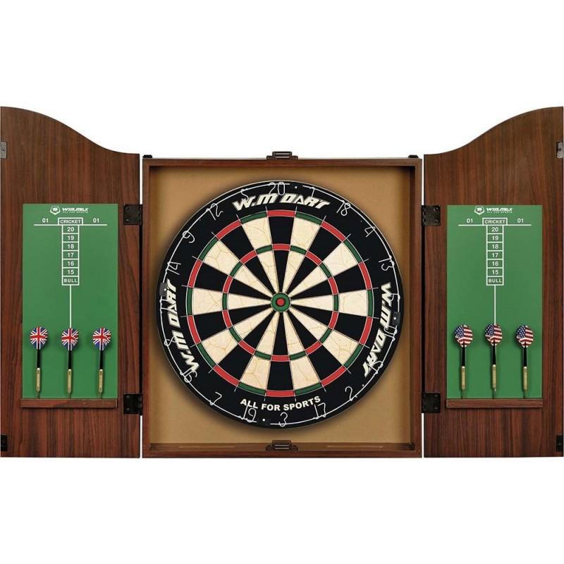 Στόχος τρίχινος σε ξύλινη θήκη ΜΕ ΕΞΙ ΒΕΛΑΚΙΑ 49115 win max
