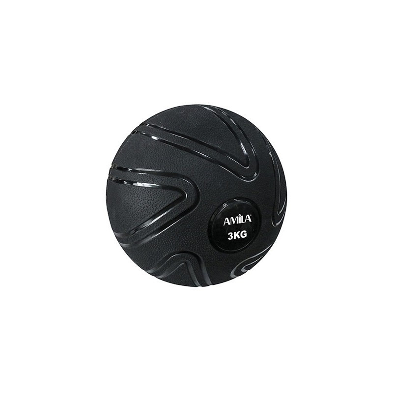 ΜΠΑΛΑ ΠΡΟΠΟΝΗΣΗΣ ΓΥΜΝΑΣΤΙΚΗΣ MEDICINE  Slam Ball 3kg 90803 AMILA