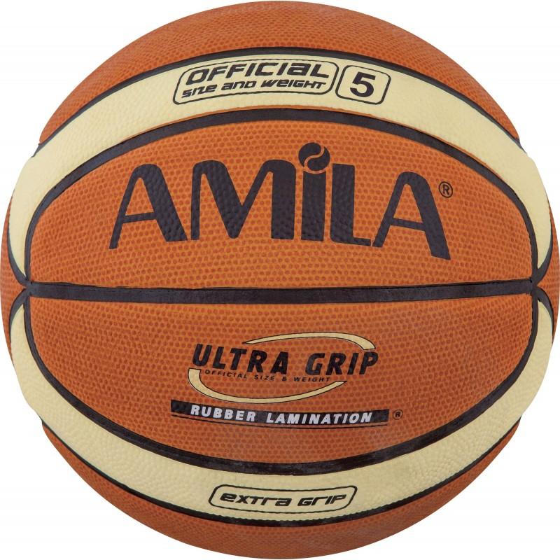 ΜΠΑΛΑ ΜΠΑΣΚΕΤ No.5 Basketball Cellular Rubber AMILA 41512
