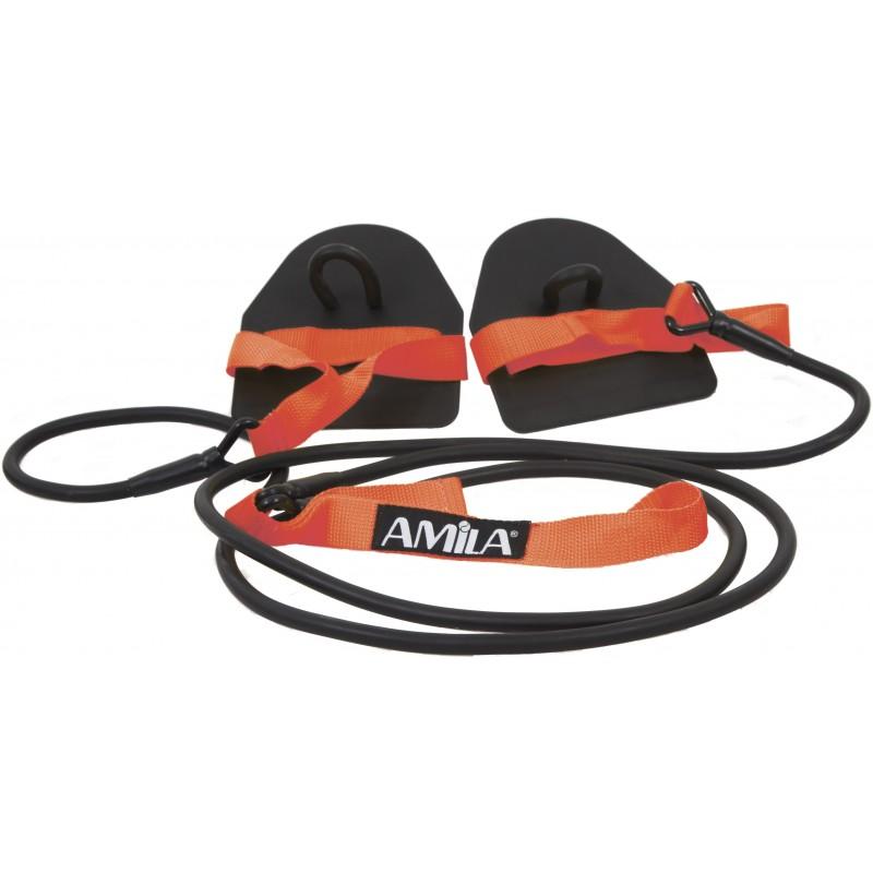 ΛΑΣΤΙΧΟ ΠΡΟΠΟΝΗΣΗΣ ΓΥΜΝΑΣΤΙΚΗΣ εξάσκησης κολύμβησης AMILA 47275