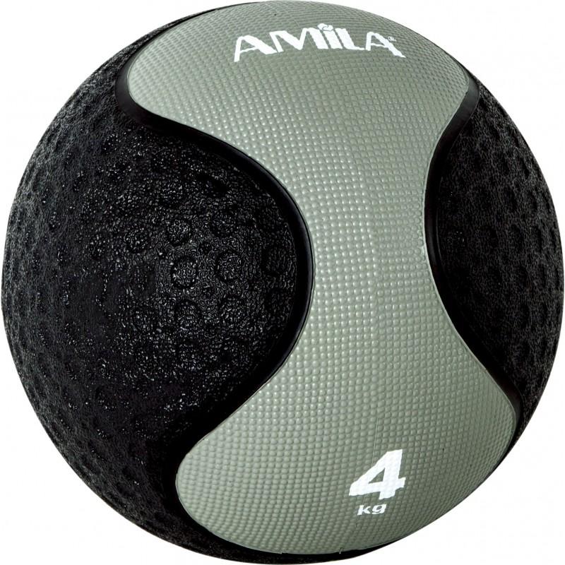 Medicine Ball ΜΠΑΛΑ ΑΣΚΗΣΕΩΝ ΓΥΜΝΑΣΤΙΚΗΣ 4kg 90704 AMILA