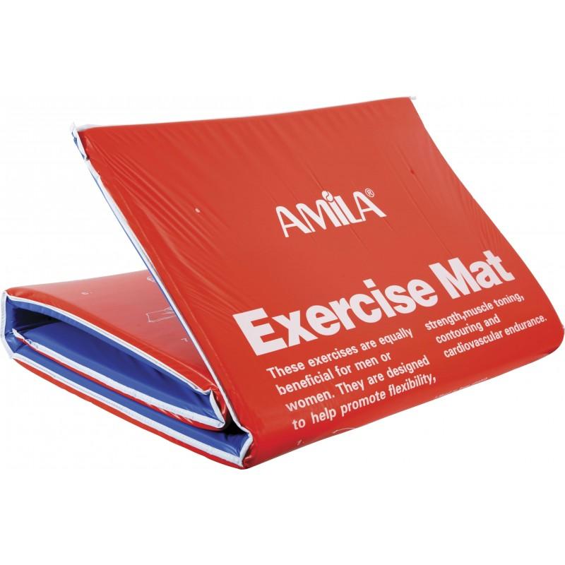ΣΤΡΩΜΑ ΑΣΚΗΣΕΩΝ ΠΡΟΠΟΝΗΣΗΣ ΓΥΜΝΑΣΤΙΚΗΣ EXERCISE MAT amila 81799
