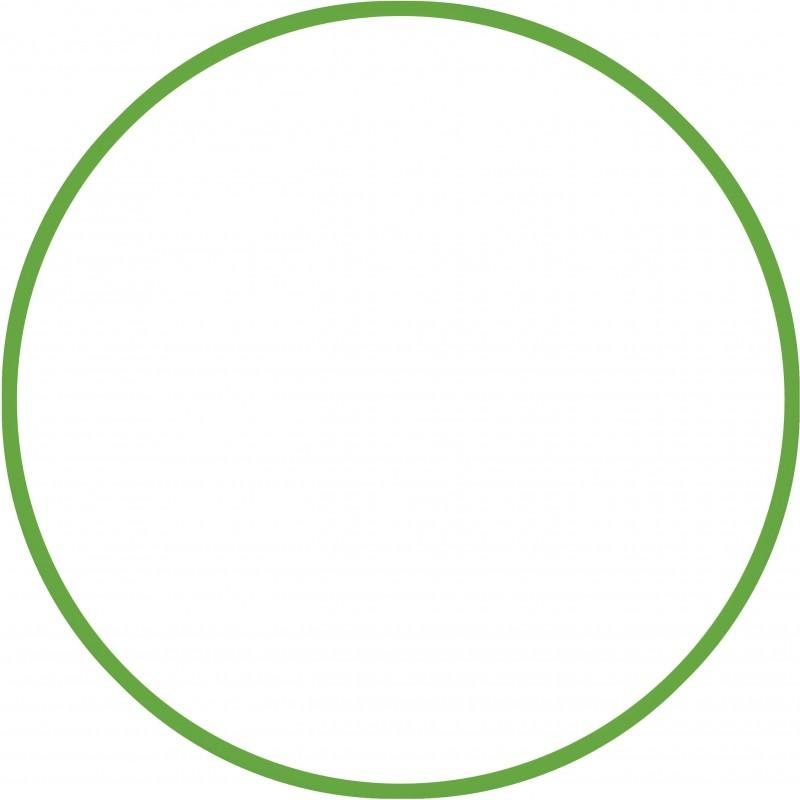 Χούλα-Χουπ 70cm - Φ18mm - 140gr, Πράσινο - 48052 HULA HOOP