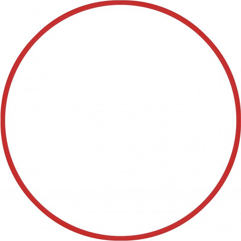 Χούλα-Χουπ 76cm - Φ18mm - 185gr, Κόκκινο - 48162  HULA HOOP