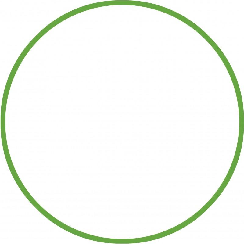 Χούλα-Χουπ 76cm - Φ18mm - 185gr, Πράσινο - 48164  HULA HOOP
