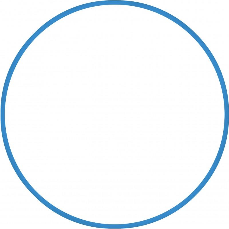 Χούλα-Χουπ 60cm - Φ18mm - 155gr, Μπλε - 48166  HULA HOOP
