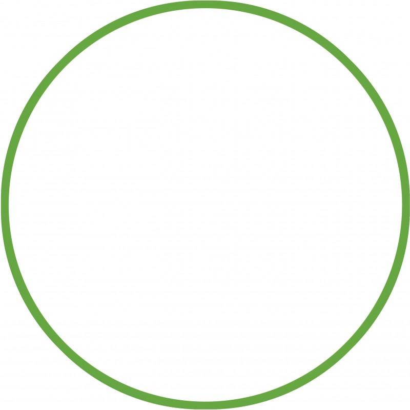 Χούλα-Χουπ 60cm - Φ18mm - 155gr, Πράσινο - 48170 HULA HOOP