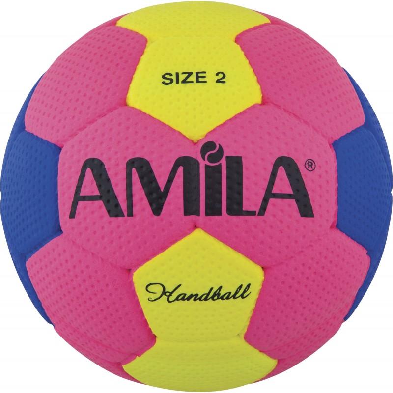 Μπάλα χαντμπαλ handball Cellular no.2 54-56cm 41322 AMILA