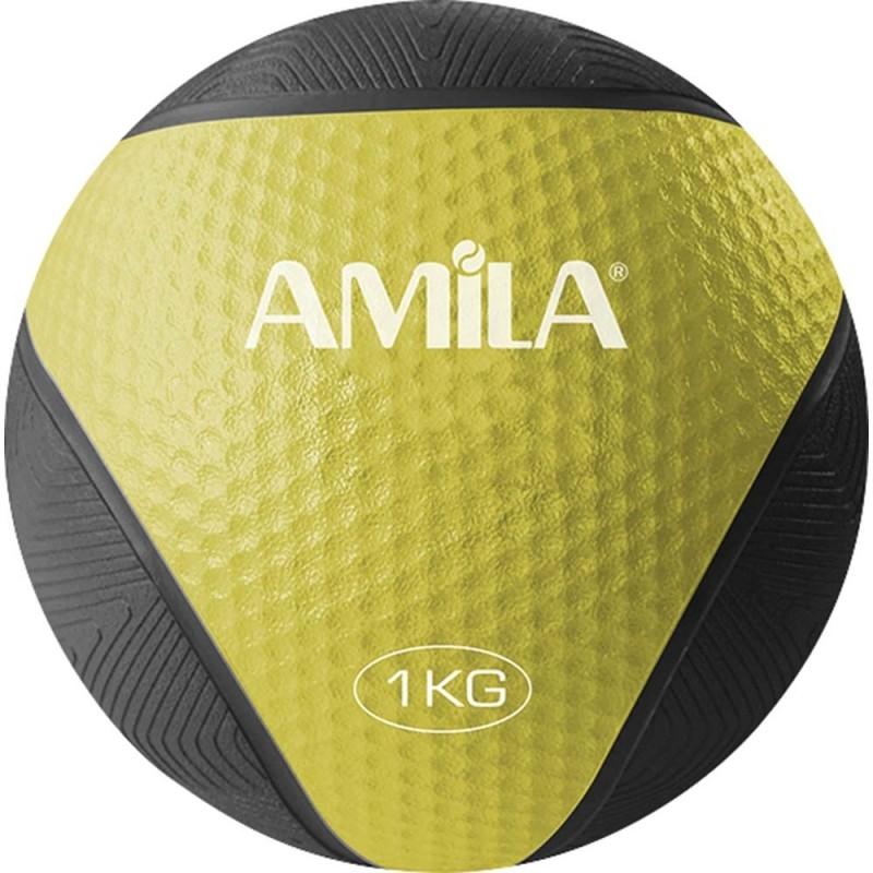 ΜΠΑΛΑ ΓΥΜΝΑΣΤΙΚΗΣ MEDICINE BALL 1kg 84751 AMILA