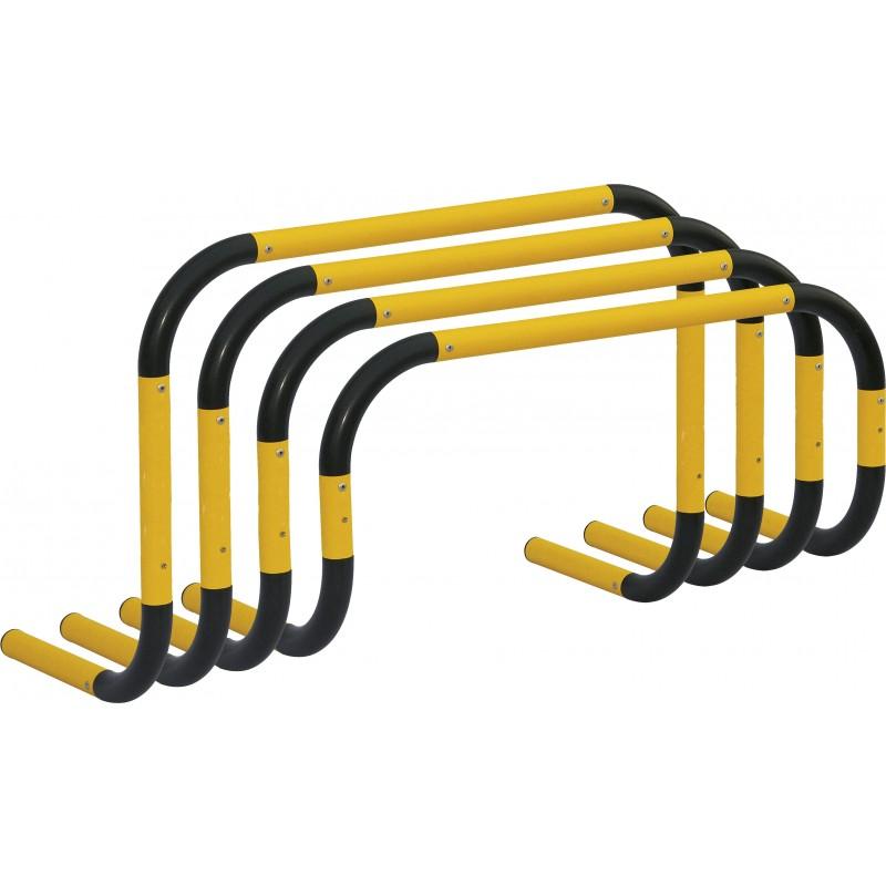 Εμπόδια για ακαδημίες με αυτόματη επαναφορά (1 τμχ.), 100x50cm 48610