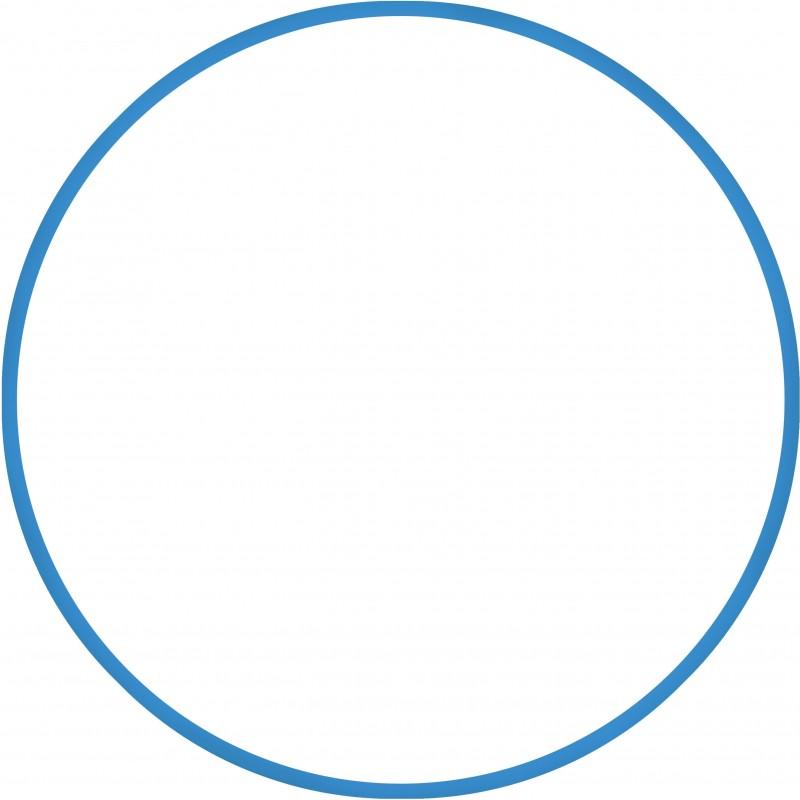 Χούλα-Χουπ 70cm - Φ19mm - 230gr, Μπλε 48159