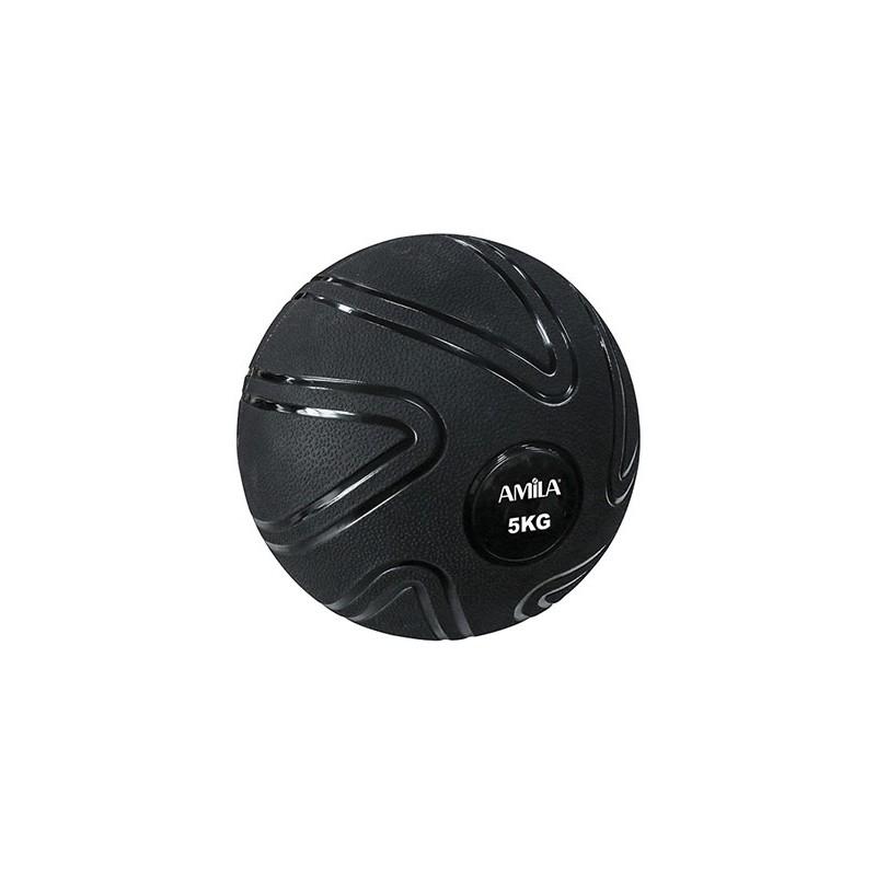 ΜΠΑΛΑ ΠΡΟΠΟΝΗΣΗΣ ΓΥΜΝΑΣΤΙΚΗΣ MEDICINE Slam Ball 5kg 90804 AMILA