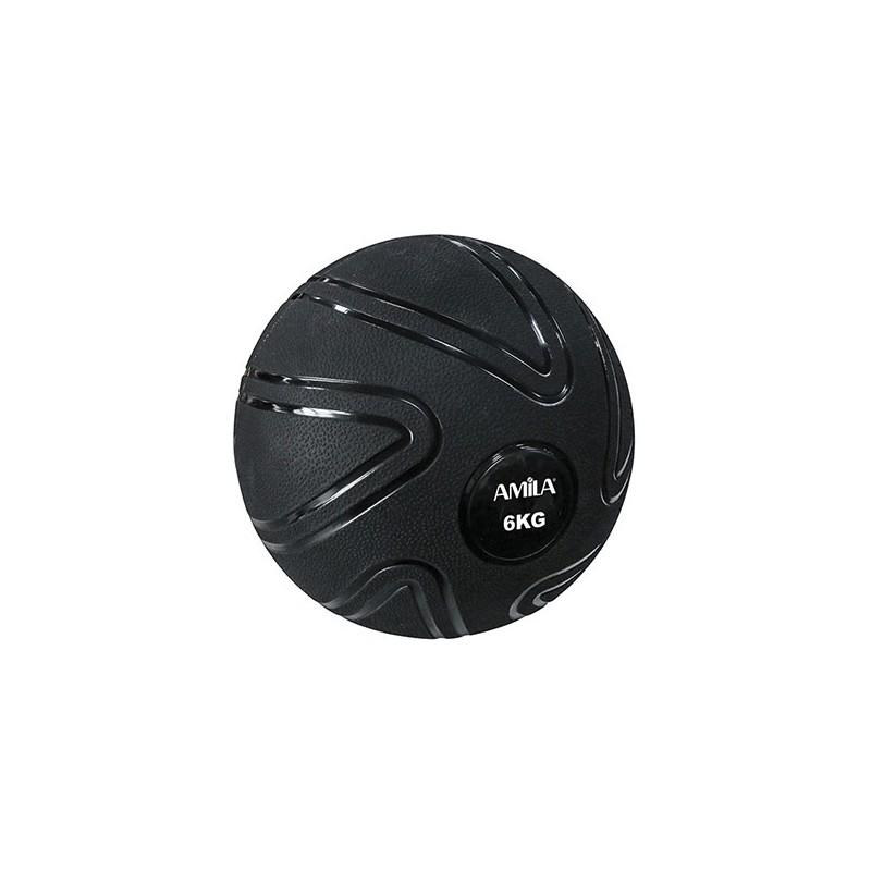 ΜΠΑΛΑ ΠΡΟΠΟΝΗΣΗΣ ΓΥΜΝΑΣΤΙΚΗΣ MEDICINE Slam Ball 6kg 90805 AMILA