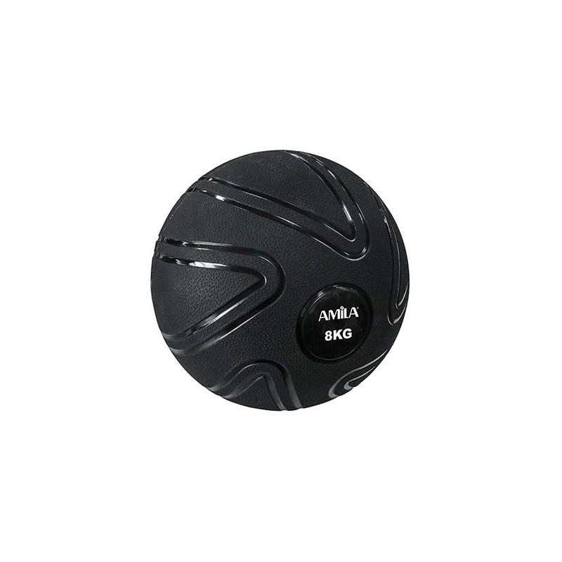 ΜΠΑΛΑ ΠΡΟΠΟΝΗΣΗΣ ΓΥΜΝΑΣΤΙΚΗΣ MEDICINE  Slam Ball 8kg 90806 AMILA