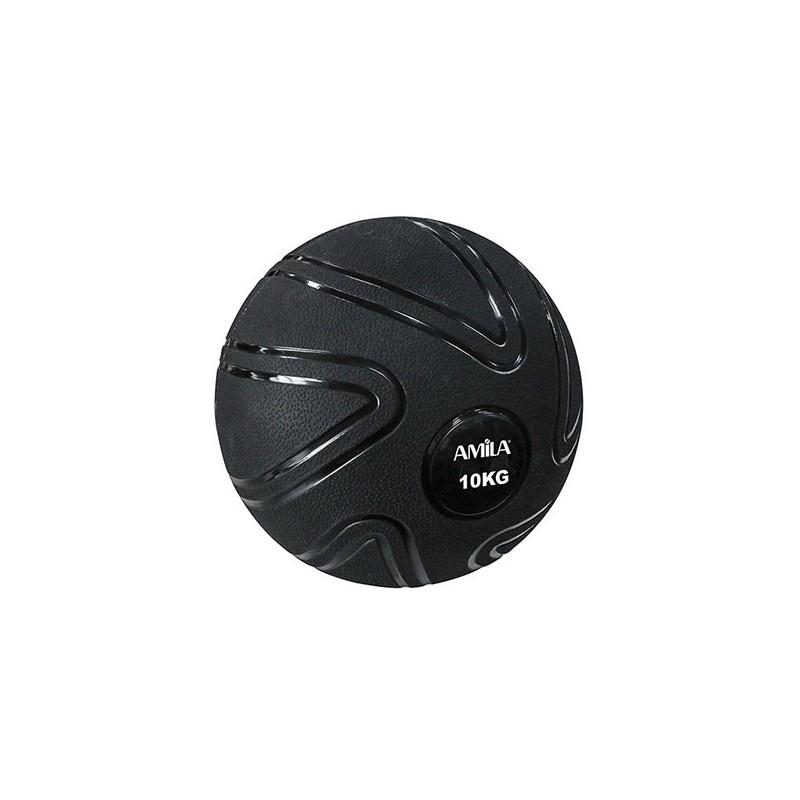 ΜΠΑΛΑ ΠΡΟΠΟΝΗΣΗΣ ΓΥΜΝΑΣΤΙΚΗΣ Slam MEDICINE  Ball 10kg 90807 AMILA