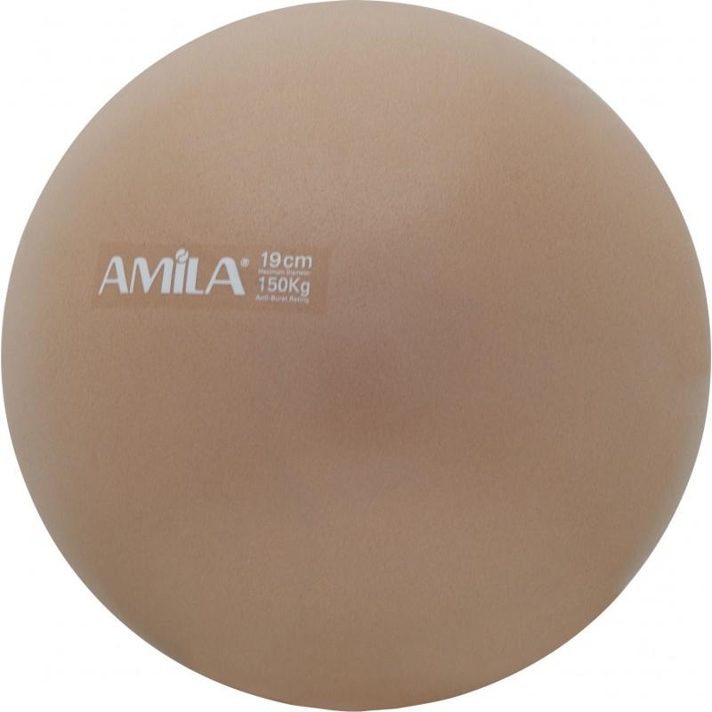 Μπάλα Pilates 19cm, Χρυσή, bulk - 95804