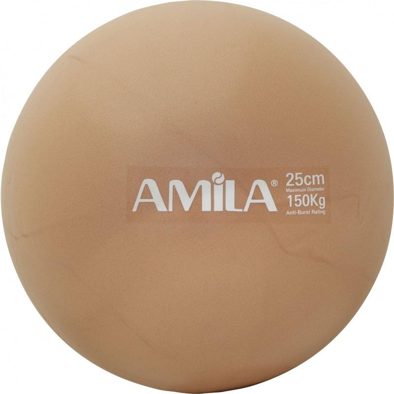 Μπάλα Pilates 25cm, Χρυσή, σε κουτί - 95815