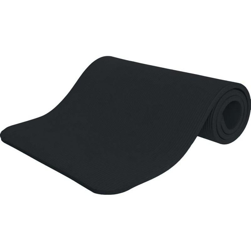 Στρώμα Γυμναστικής 10mm 90Kg 142cm Μαύρο - 95905