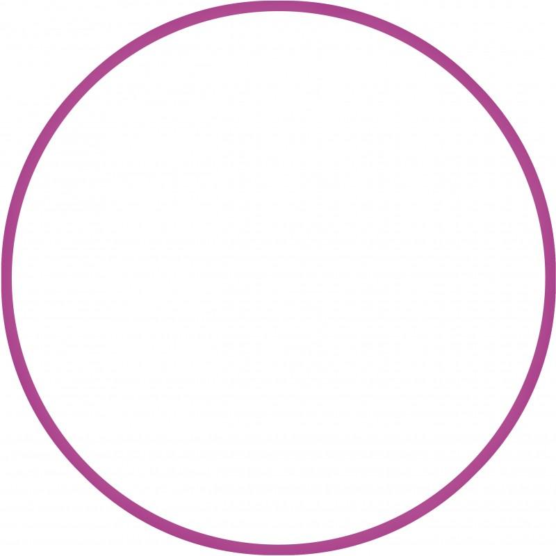 Χούλα-Χουπ 60cm - Φ19mm - 230gr, Φούξια - 98801