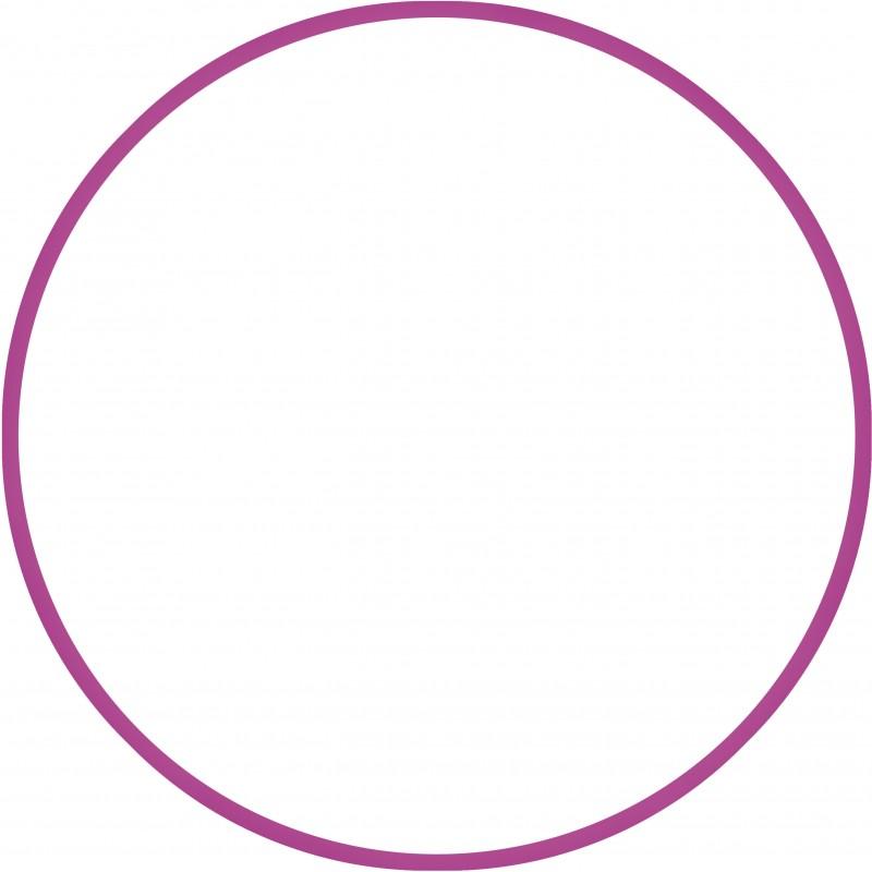 Χούλα-Χουπ 70cm - Φ19mm - 280gr, Φούξια - 98807