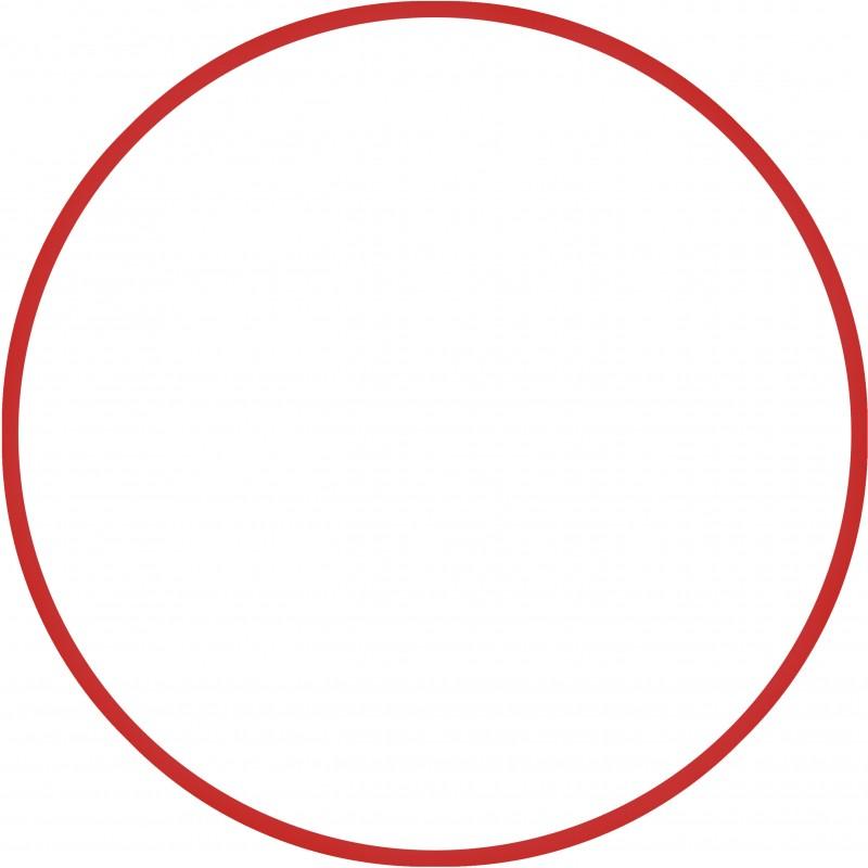 Χούλα-Χουπ 70cm - Φ19mm - 280gr, Κόκκινο - 98809