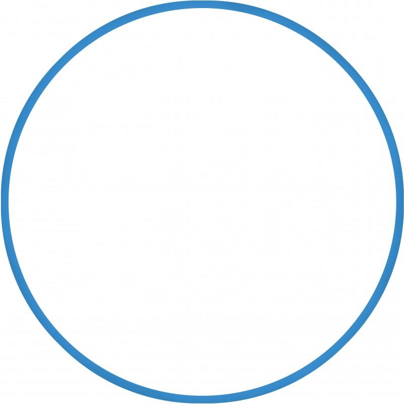 Χούλα-Χουπ 70cm - Φ19mm - 280gr, Μπλε - 98810