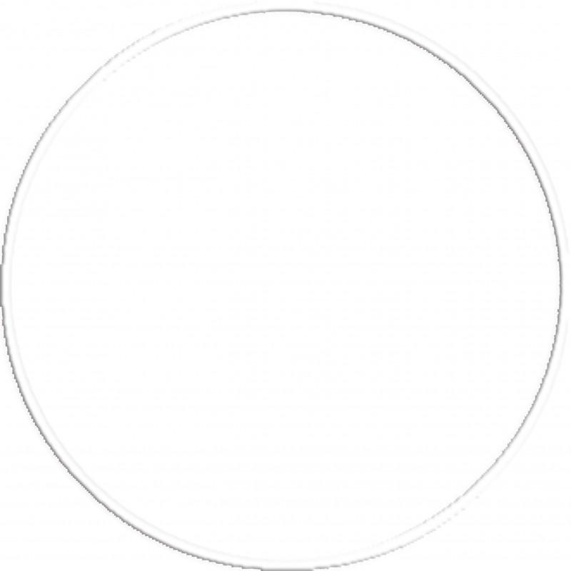 Χούλα Χουπ 70cm Φ19mm 280gr Λευκό - 98814