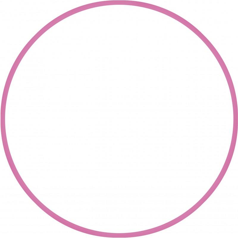 Χούλα-Χουπ 80cm - Φ19mm - 330gr, Ροζ - 98816