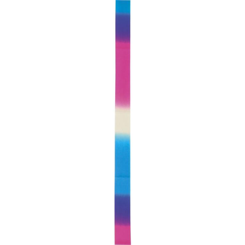 Κορδέλα Ρυθμικής Γυμναστικής 6m, Άσπρο-Μπλε-Ροζ - 98901