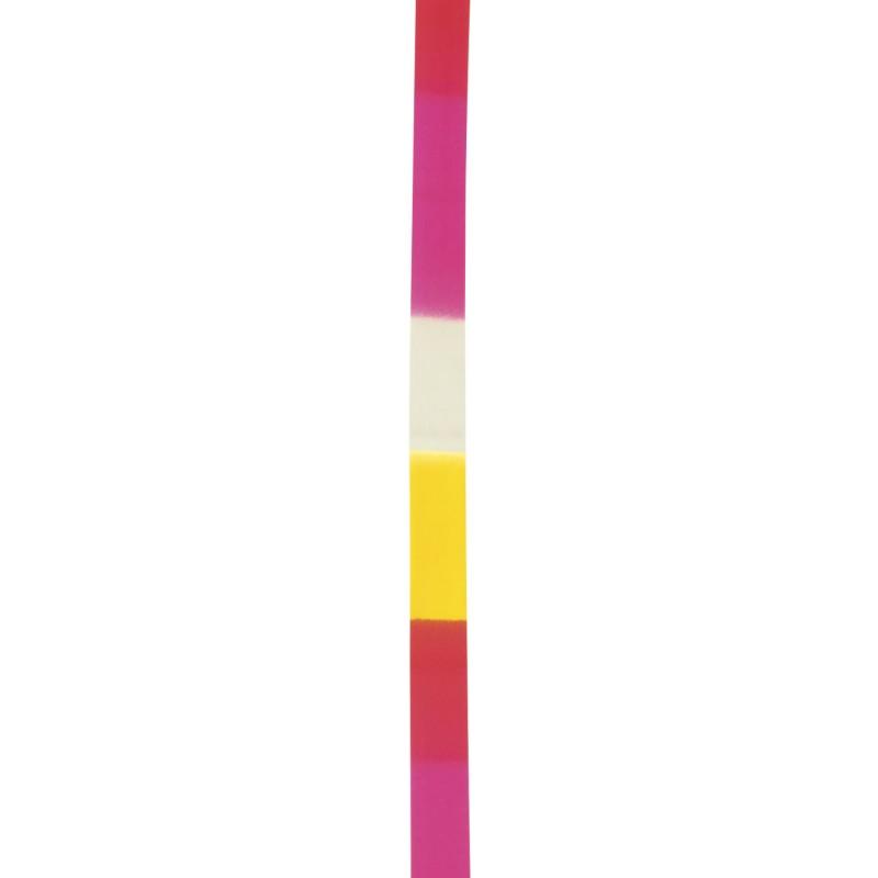 Κορδέλα Ρυθμικής Γυμναστικής 6m, Άσπρο-Ροζ-Κίτρινο - 98902
