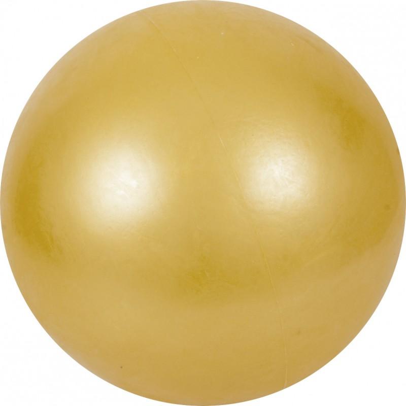 Μπάλα Ρυθμικής Γυμναστικής 19cm FIG Approved, Κίτρινη με Strass