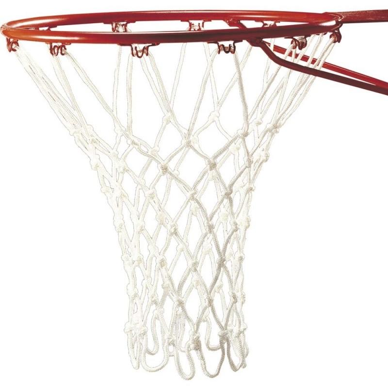 Δίχτυ Μπάσκετ BASKET Επαγγελματικό Λευκό, 1 τμχ., Nylon 5mm 44955 AMILA