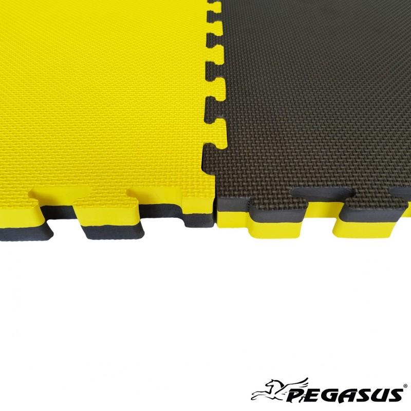 Δάπεδο προστασίας Puzzle EVA (Μαύρο/Κίτρινο) 2.0cm - Β-4100-20 ΤΑΤΑΜΙ