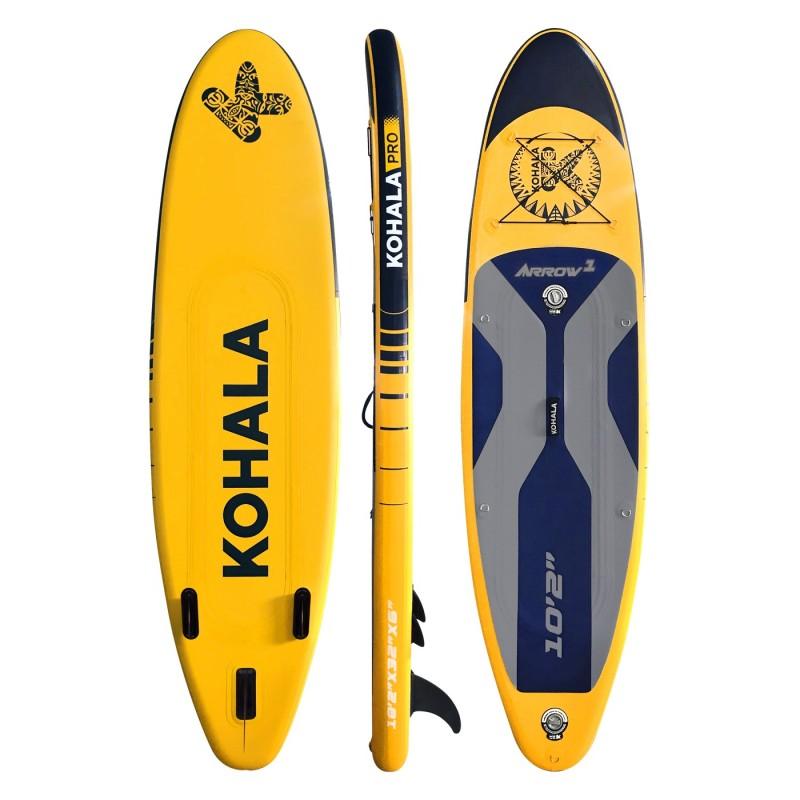 "DVSport® Φουσκωτό SUP Kohala Pro ""Arrow 1"" (10'2"") - KH-31020"