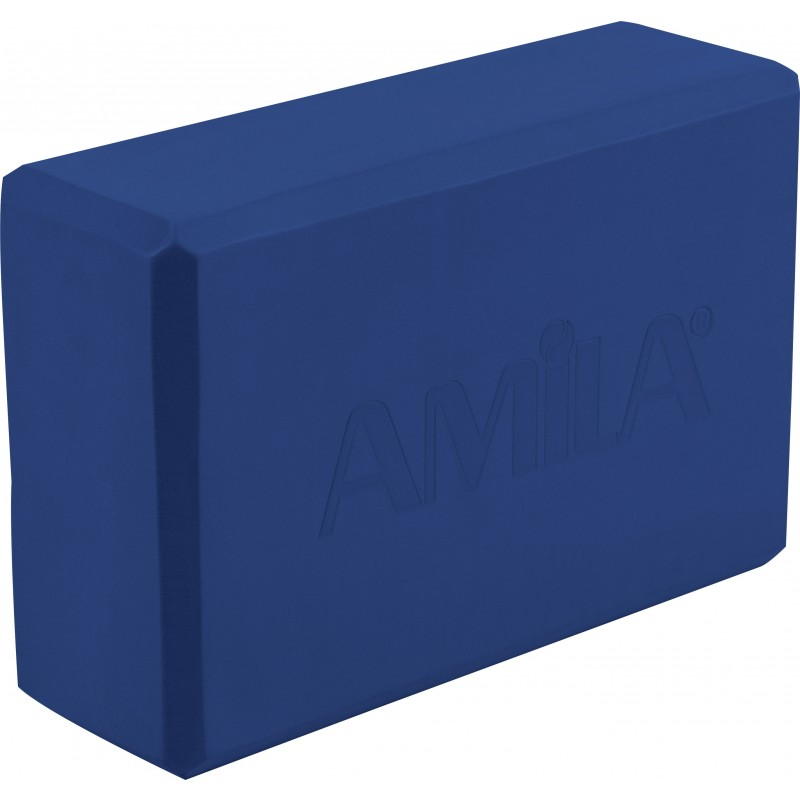 Τούβλο για ΓΙΟΓΚΑ ΤΟΥΒΛΑΚΙ YOGA BRICK μπλε AMILA 96840