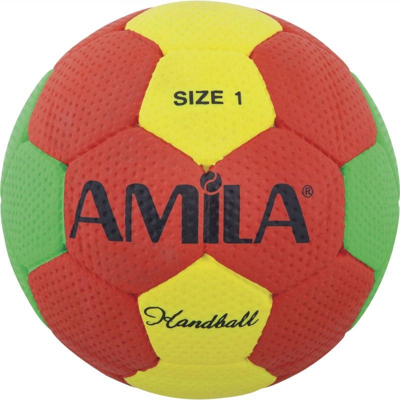 Μπάλα χαντμπαλ handball Cellular no.1 50-52cm 41321 AMILA