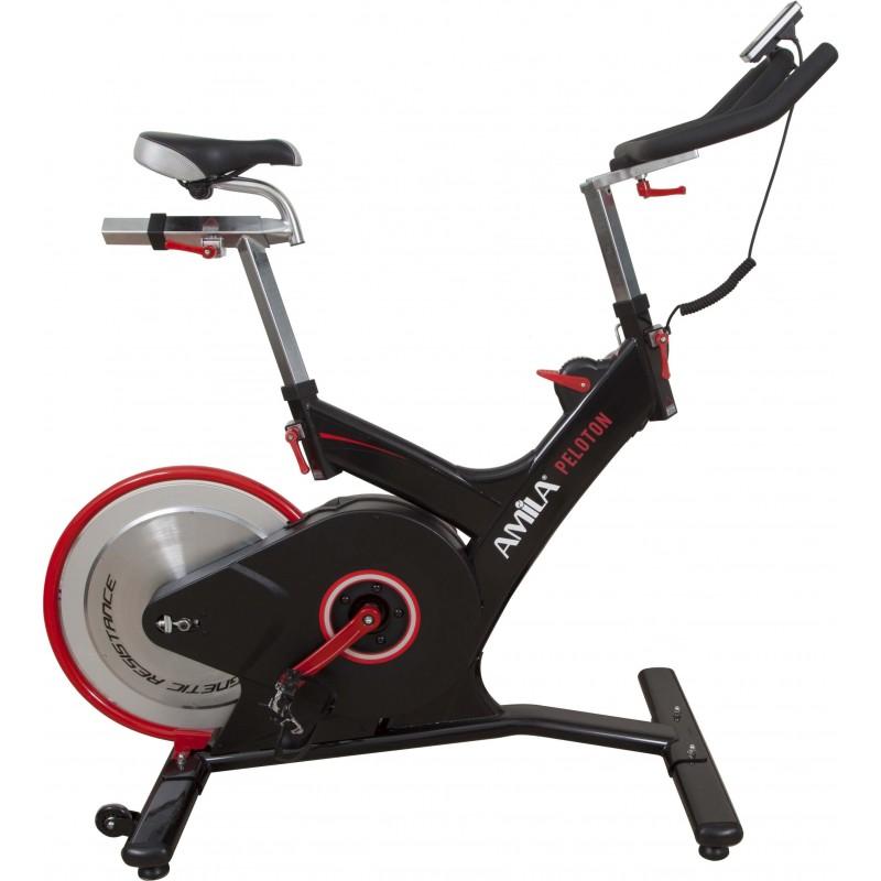 SPIN BIKE ΠΟΔΗΛΑΤΟ ΠΡΟΠΟΝΗΣΗΣ ΓΥΜΝΑΣΤΙΚΗΣ Indoor Cycle Peloton (EM-91A) 43344 AMILA