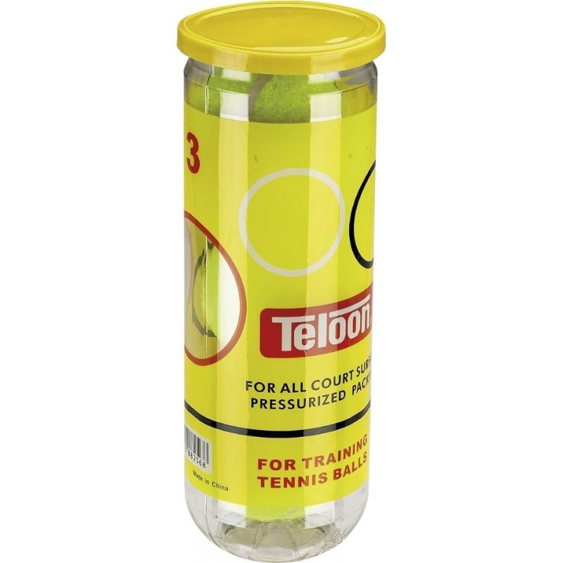 ΜΠΑΛΑΚΙΑ ΤΕΝΝΙΣ TENNIS BALLS Teloon Mascot ( 3 ΤΕΜΑΧΙΑ ) AMILA 42212