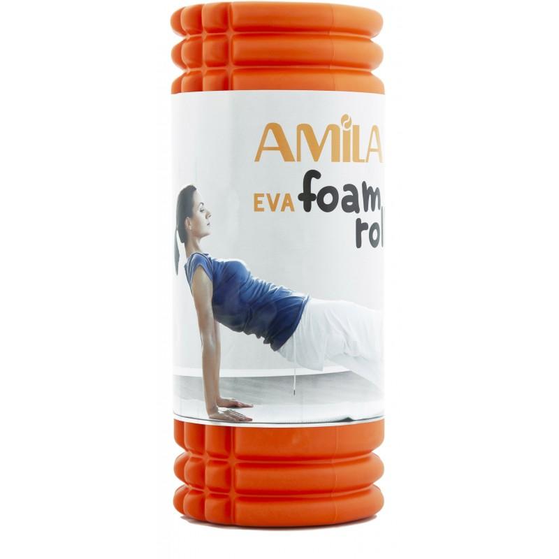 AMILA Foam Roller ΚΥΛΙΝΔΡΟΣ ΙΣΟΡΡΟΠΙΑΣ Φ14x33cm - 96821
