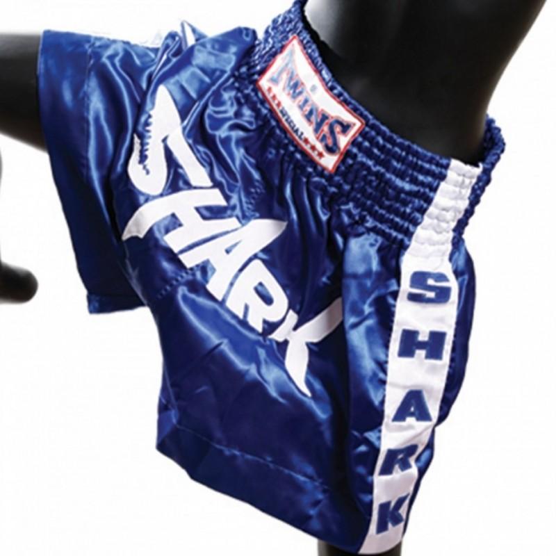 ΣΟΡΤΣ ΠΟΛΕΜΙΚΩΝ ΤΕΧΝΩΝ KICK THAI BOXING Shorts Twins Silk Shark