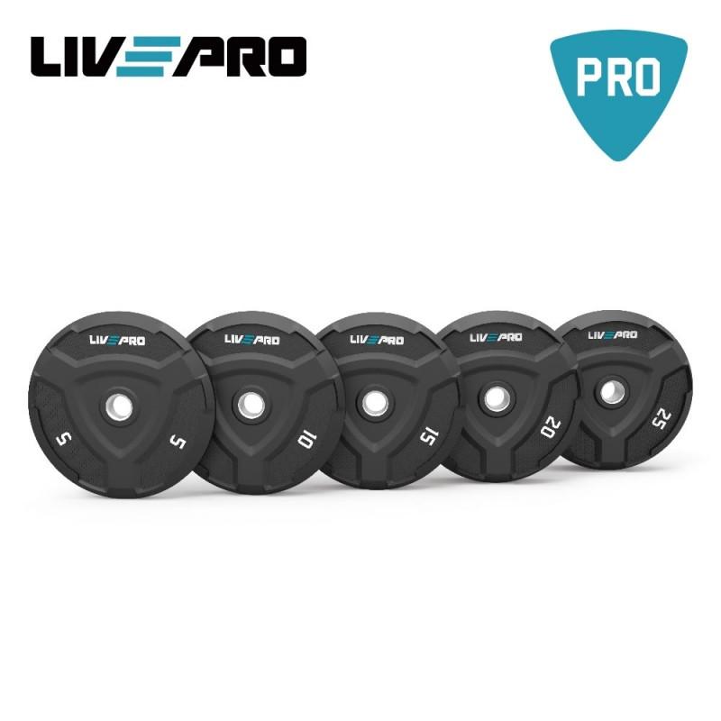 Bumper Plate (Δίσκος 10 κιλών) LIVE PRO Β-8022-10