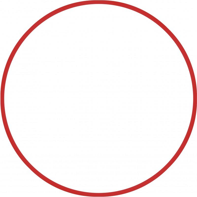 Χούλα Χουπ ΚΟΚΚΙΝΟ 70cm  Φ18mm - 140gr HULA HOOP AMILA RED 48020