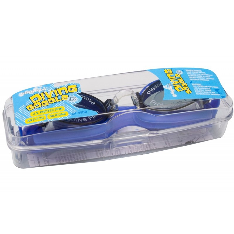Γυαλάκια κολύμβησης junior (μπλε) - 88DB