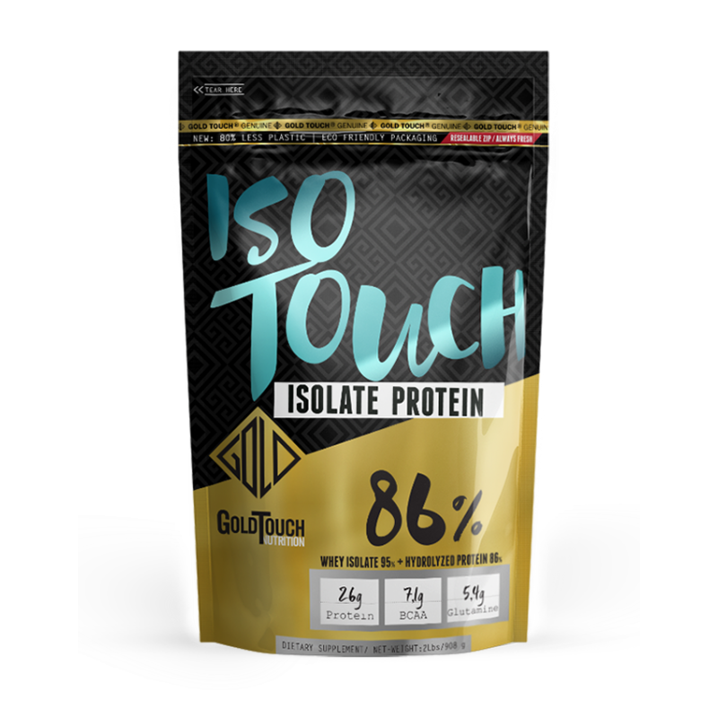 Premium Iso Touch 86% (2lbs) Πρωτεΐνη - GoldTouch Nutrition