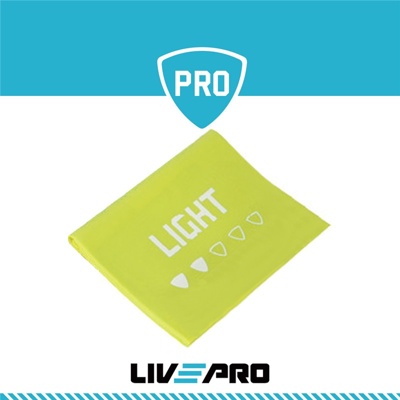 Live Pro Λάστιχο Αντίστασης (κορδέλα) Light - Β 8413-L