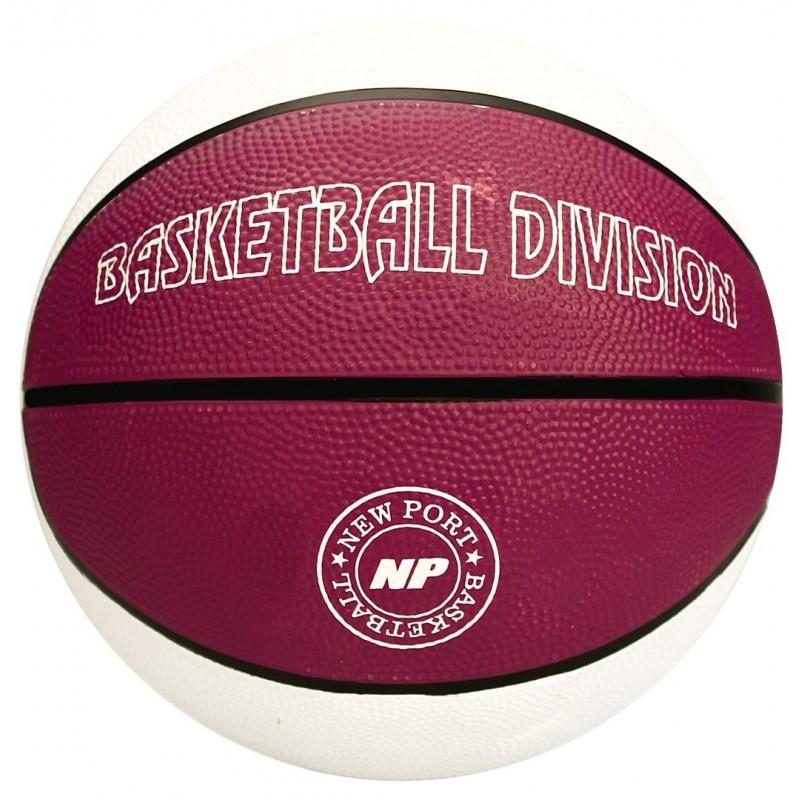 Μπάλα Basket Νο7 (Λευκό/Μωβ) - 16GE-WPZ
