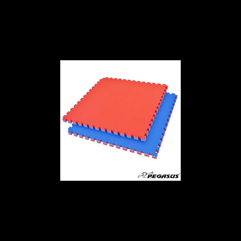 Δάπεδο προστασίας ΤΑΤΑΜΙ Puzzle EVA (Μπλε/Κόκκινο) 2.0cm